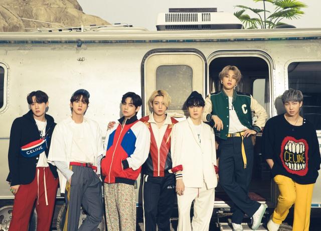 BTSがベストアルバム『BTS, THE BEST』の新ビジュアル公開の画像