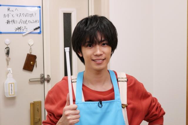 『ZIP!』内コーナー 『解決!King & Prince』に出演するKing & Princeの神宮寺勇太 (C)日本テレビの画像