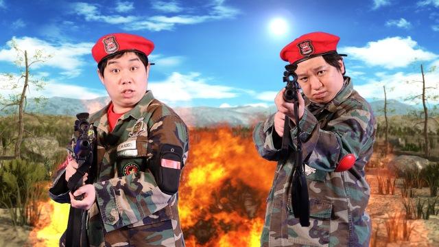5月6日放送『霜降り明星の笑野行動~笑わせあって生き残れ!!~』 (C)フジテレビの画像