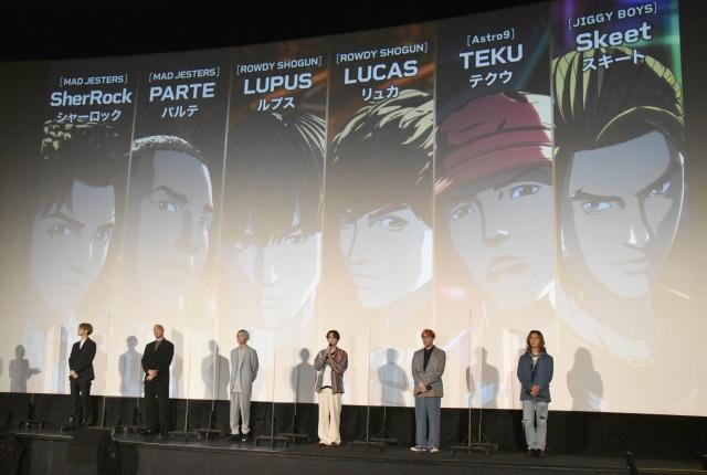 アバター化したJr.EXILE計38人をアニメやゲームなどさまざまなデジタル・バーチャルコンテンツで展開する (C)ORICON NewS inc.の画像