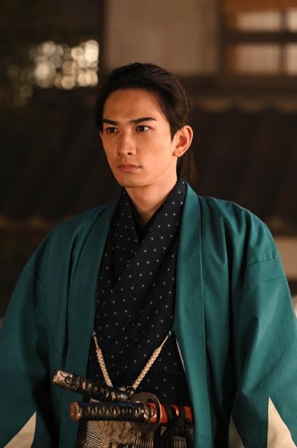 『青天を衝け』で土方歳三を演じる町田啓太(C)NHKの画像