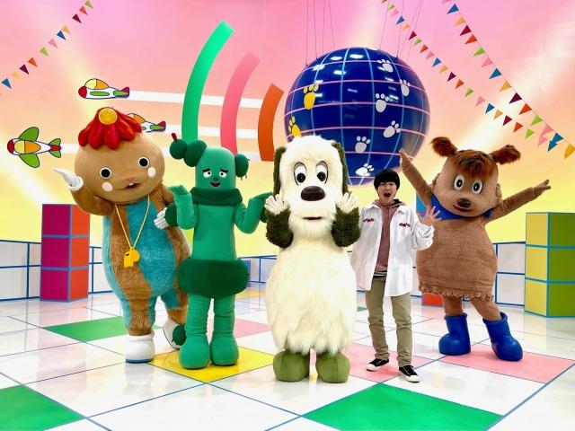 Eテレ特集番組『いないいないばあっ!ワンワン・ザ・ワールド』に鈴木福が登場(C)NHKの画像