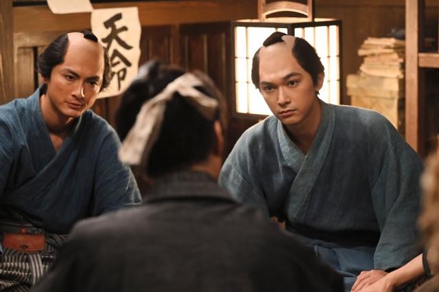 18日放送の第10回「栄一、志士になる」より(C)NHKの画像