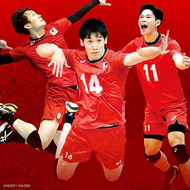 『バレーボール日本代表 国際親善試合~東京チャレンジ2021~男子 日本対中国』をフジテレビで生中継の画像