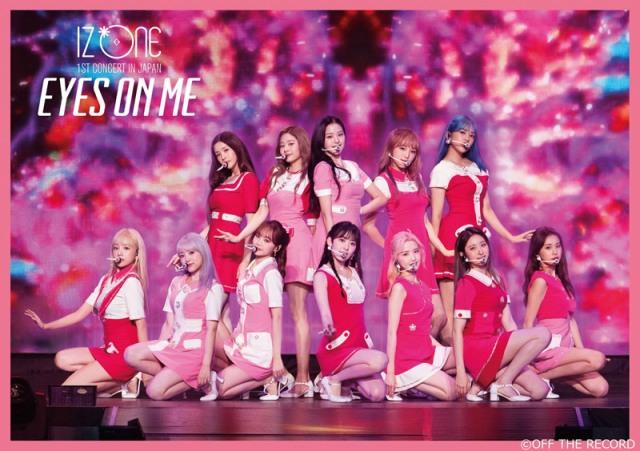 IZ*ONE『IZ*ONE 1ST CONCERT IN JAPAN [EYES ON ME] TOUR FINAL -Saitama Super Arena-』(ユニバーサル ミュージック/4月14日発売)の画像