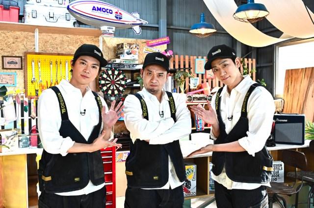 23日放送『NEWSの全力!! メイキング』に出演するNEWSの加藤シゲアキ、千鳥・大悟、小山慶一郎 (C)TBSの画像