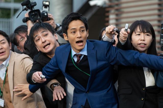 『今ここにある危機とぼくの好感度について』で大学広報マンを演じる松坂桃李(C)NHKの画像