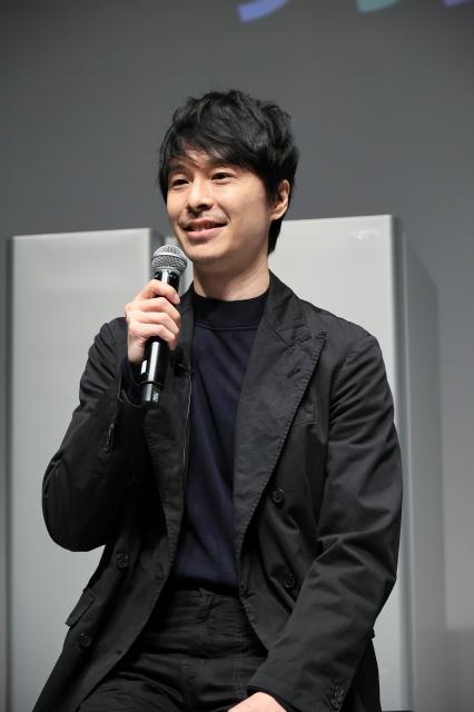 AQUA冷蔵庫「TZシリーズ」ブランドTVCM発表会に出席した長谷川博己の画像