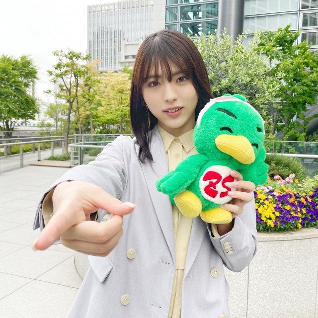 『ズームイン!!サタデー』5月のお天気キャスターに井手上漠が登場 (C)日本テレビの画像