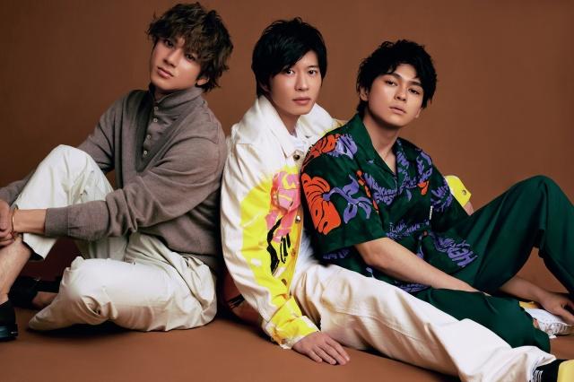 『Oggi』6月号に登場する(左から)山田裕貴、田中圭、眞栄田郷敦の画像
