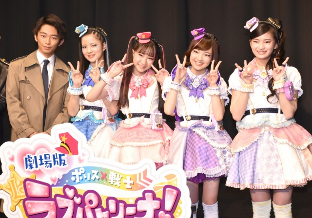 役者の先輩として加藤清史郎(左)がラブパトリーナの4人にアドバイス (C)ORICON NewS inc.の画像