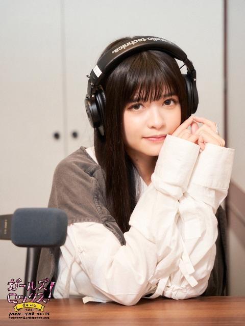 『GIRLS LOCKS!』4週目を担当する景井ひな(C)TOKYO FMの画像