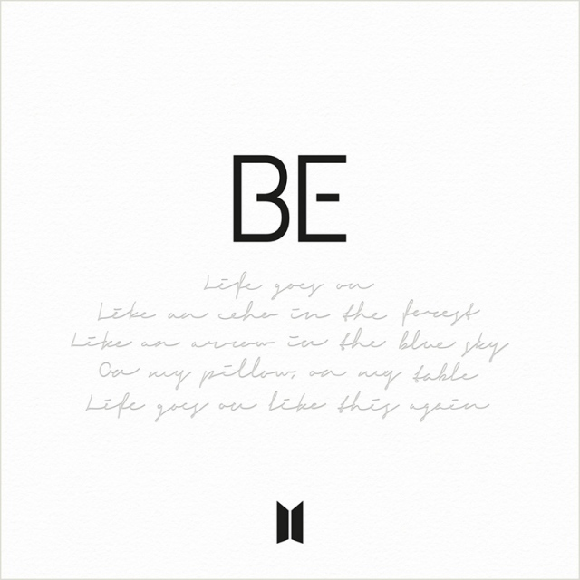 BTS『BE』(Big Hit Entertainment/2020年11月20日、2021年2月19日発売)の画像