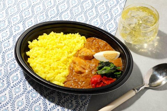 イトーヨーカドーとナイルレストランのコラボメニュー『コクうま!バターチキンカレー』594円(税込)の画像