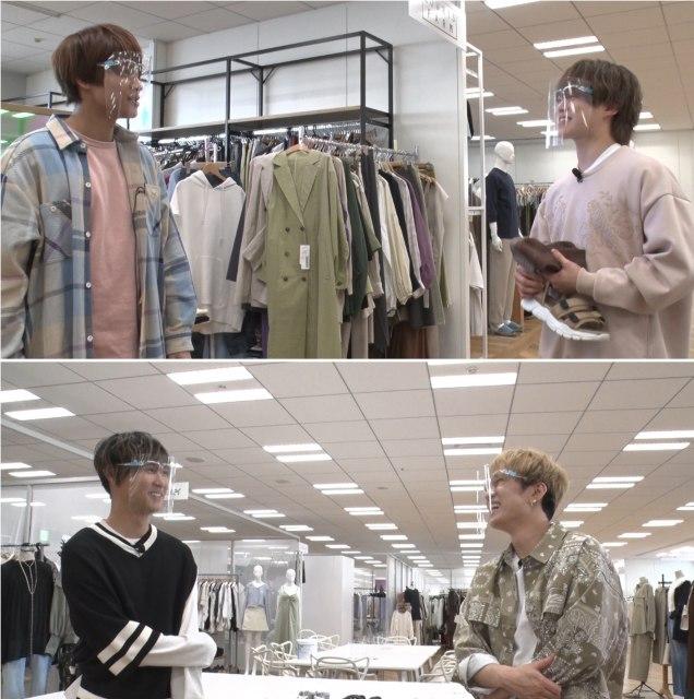 『ヒルナンデス!』の『ファッションセンス格付けバトル 〜ジャニーズSP3〜』でジャニーズ4人がガチ対決 (C)日本テレビの画像