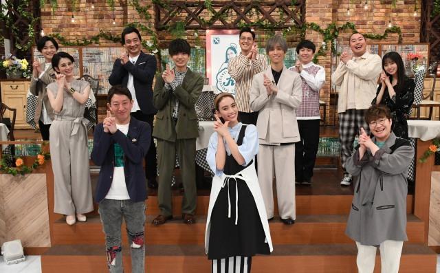 テレビ朝日系『NOとは言わない!カレン食堂』の第4弾の出演者たち (C)テレビ朝日の画像