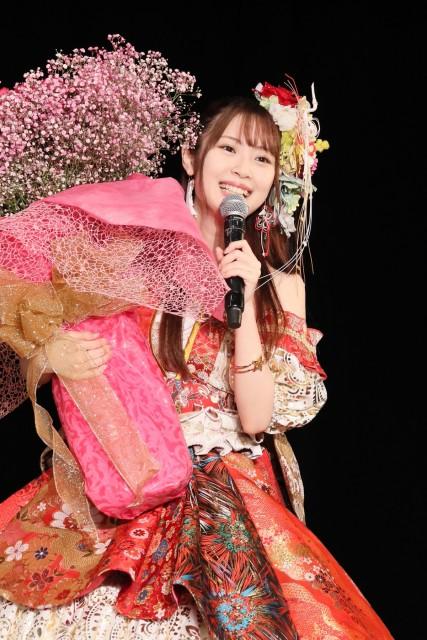12年のアイドル活動に終止符を打ったSKE48の高柳明音の画像