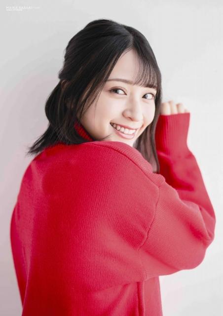『BUBKA』6月号セブンネット限定版の表紙を飾る=LOVE・佐々木舞香の画像