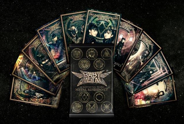 BABYMETALのNFTトレーディングカード+ベストアルバムのアナログ盤をセットで限定販売の画像
