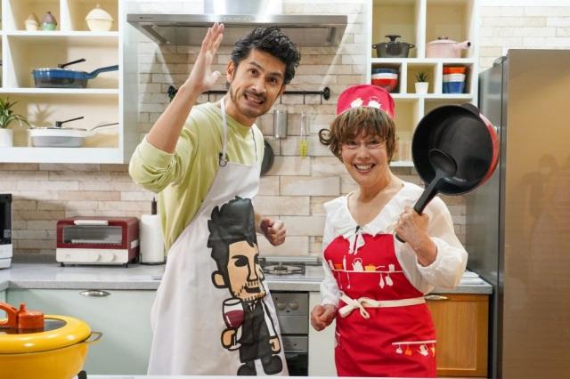 スペースシャワーTV特別番組で平井堅が「なりたかった」平野レミと共演の画像
