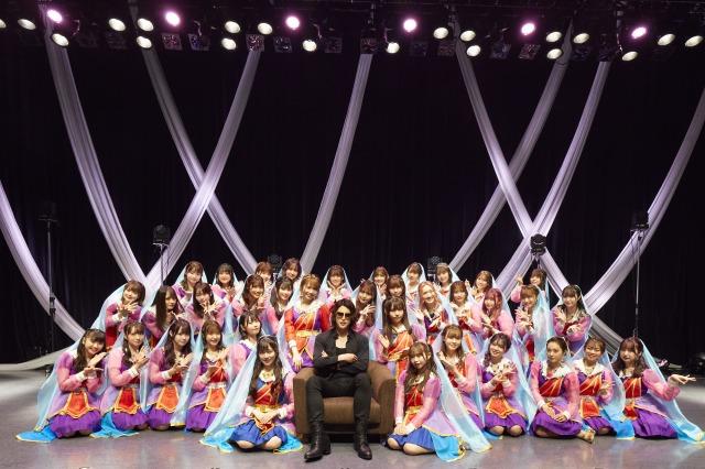 ラストアイドルの「君は何キャラット?」発売記念イベントにROLANDがサプライズ登場 Photo by Yoshifumi Shimizuの画像