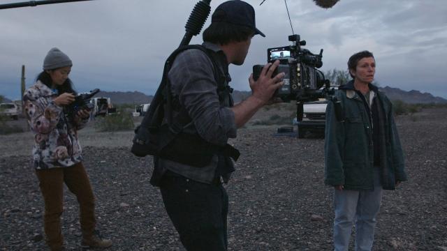 映画『ノマドランド』映像美の撮影裏に迫る特別映像到着 (C)2021 20th Century Studios. All rights reserved.の画像