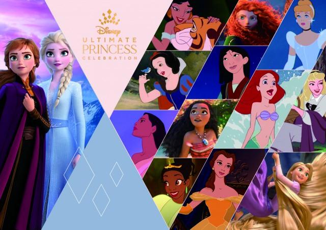 """""""勇気と優しさ""""をテーマにディズニーのグローバルな祭典がスタート「Ultimate Princess Celebration(アルティメット・プリンセス・セレブレーション)」 (C)Disney (C)Disney/Pixarの画像"""