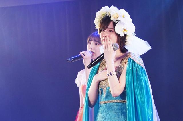 SKE48最後の1期生・松井珠理奈が卒業公演で涙(C)2021 Zest,Inc.の画像