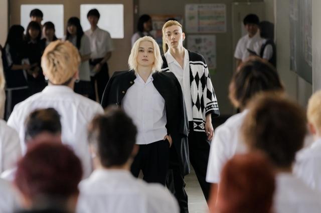映画『東京リベンジャーズ』場面写真が解禁(C)和久井健/講談社(C)2020 映画「東京リベンジャーズ」製作委員会の画像