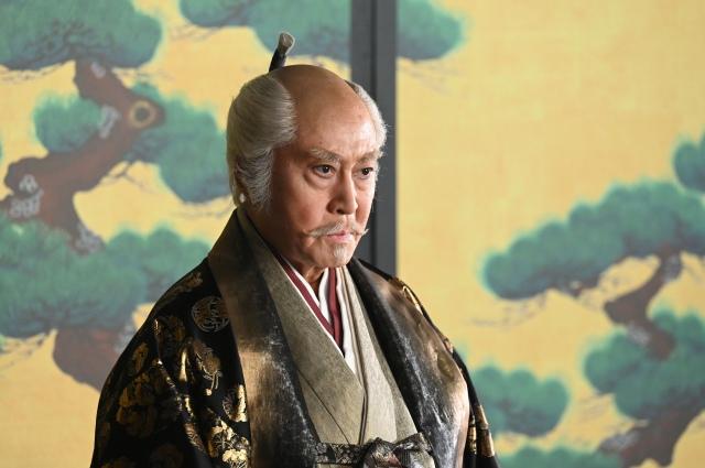 徳川家康を演じている北大路欣也(5月2日放送の第12回「栄一の旅立ちより」)(C)NHKの画像