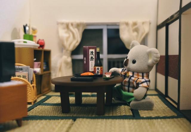 ステイホームするコアラのお父さん(画像提供:KanaFettさん)の画像