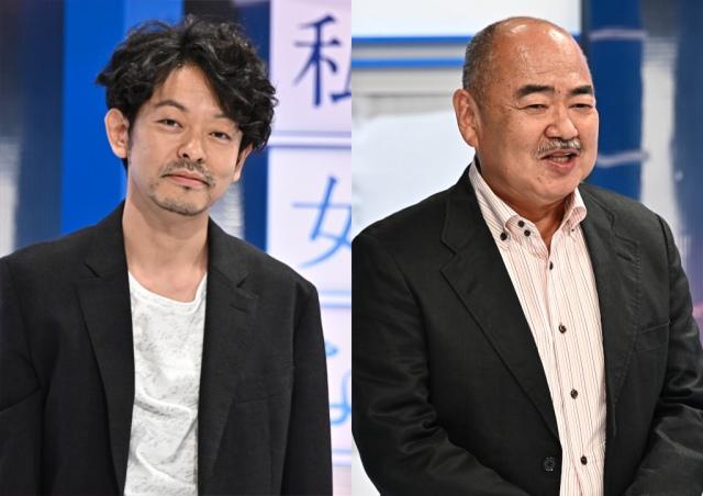 『私が女優になる日_』に出演する山中崇&原金太郎(C)TBSの画像