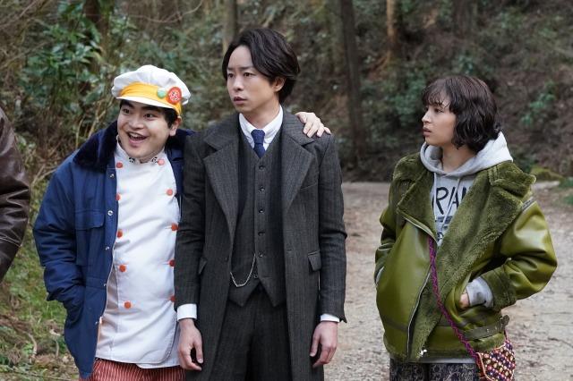 『ネメシス』第5話に出演する加藤諒、櫻井翔、広瀬すず (C)日本テレビの画像