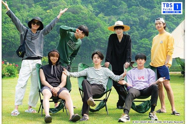 BTSが森の中で1週間過ごした『In the SOOP BTS ver.』をCS放送TBSチャンネル1でテレビ初放送の画像