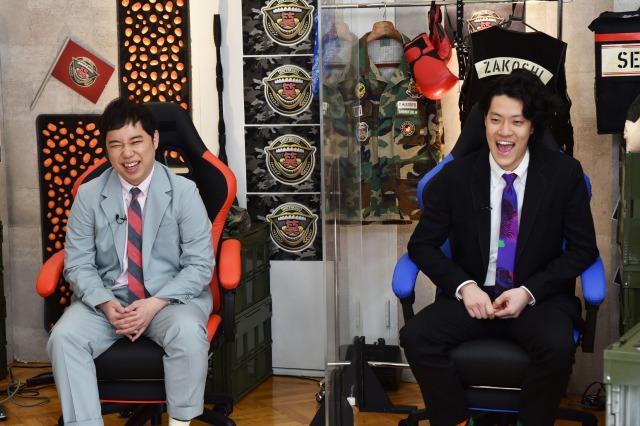 6日放送の『霜降り明星の笑野行動~笑わせあって生き残れ!!~』(C)フジテレビの画像