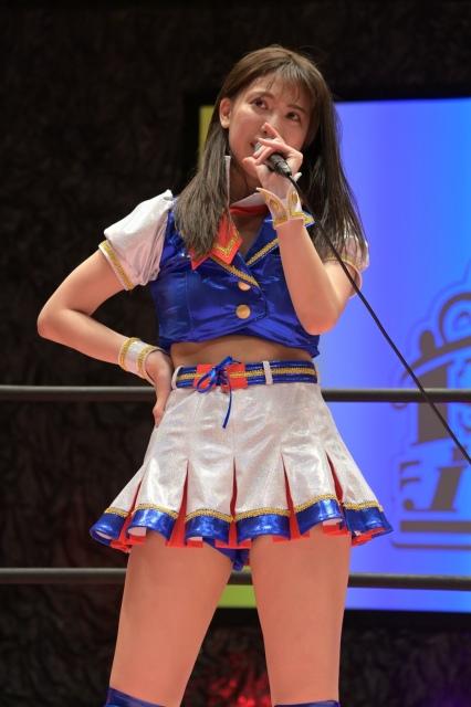 プロレス本格デビューを飾った荒井優希の画像