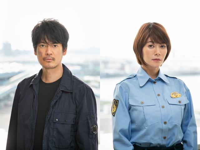 7月スタートの『ボイスII 110緊急指令室』に出演する唐沢寿明、真木よう子 (C)日本テレビ