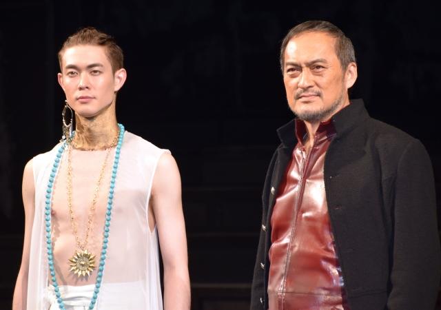 (左から)宮沢氷魚、渡辺謙 (C)ORICON NewS inc.の画像