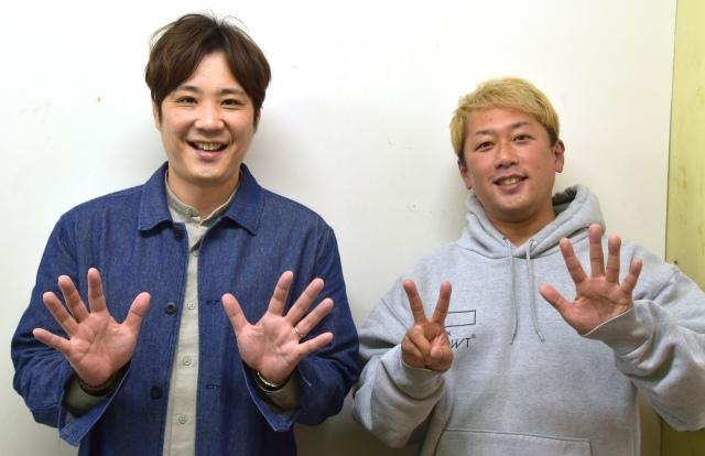 25周年記念の全国ツアーを開催するライセンス(左から)藤原一裕、井本貴史 (C)ORICON NewS inc.の画像