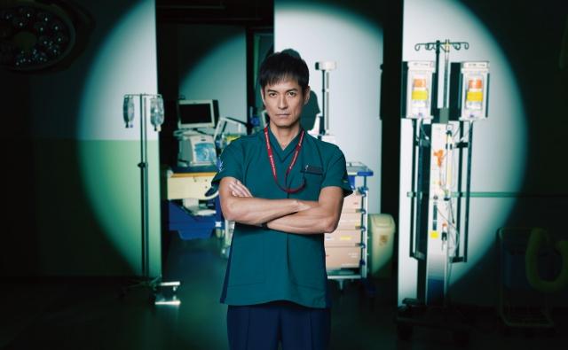 6月スタートの月9ドラマ『ナイト・ドクター』に沢村一樹が出演(C)フジテレビの画像
