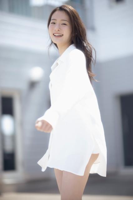 『FLASH』5月18日発売号に登場する神谷明采(C)光文社/週刊FLASH 写真◎彦坂栄治の画像
