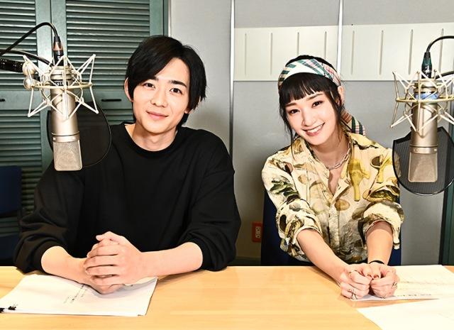 オーディオドラマ『白村颯太に好かれたいby AudioMovie(R)』に出演する竜星涼、剛力彩芽の画像