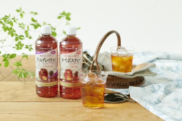 人気紅茶ブランド『AfternoonTea』が初監修した「アールグレイティー」と「ルイボスティー」の画像