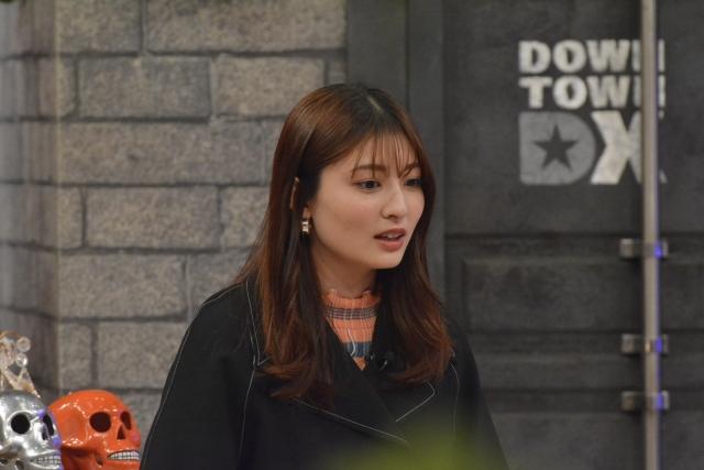 20日放送のトークバラエティー『ダウンタウンDX』に出演する吉川愛(C)ytvの画像