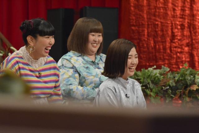 20日放送のトークバラエティー『ダウンタウンDX』に出演する3時のヒロイン(C)ytvの画像