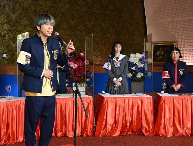20日放送『ぐるぐるナインティナイン』に出演する増田貴久、中条あやみ、岡村隆史 (C)日本テレビの画像