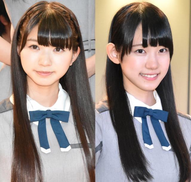 22/7(左から)涼花萌、海乃るり (C)ORICON NewS inc.の画像