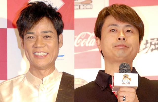 (左から)名倉潤、河本準一 (C)ORICON NewS inc.の画像