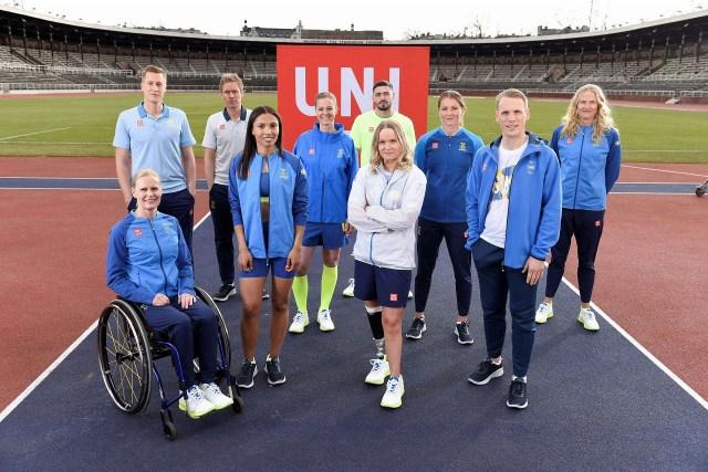 ユニクロは、スウェーデン代表選手団が着用する公式ウエアを提供の画像