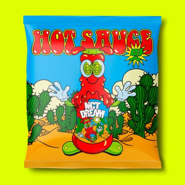 NCT DREAM『Hot Sauce : NCT DREAM Vol.1』(輸入盤/5月11日発売)の画像